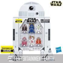 Star Wars Astromech Droid Pack met 6 Droids actiefiguren