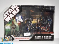 Star Wars Battle Packs Droid Factory Capture