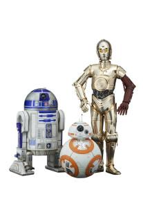 Star Wars BB-8, R2-D2 & C-3PO ARTFX+ statue / model kit