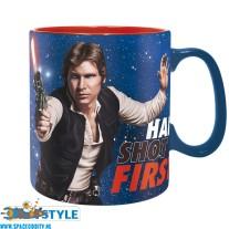 Star Wars beker/mok Han shot first