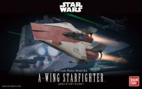 Star Wars bouwpakket A-Wing Starfighter 1/72 schaal