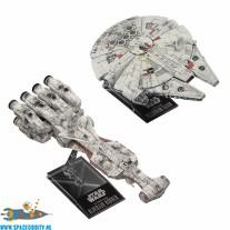 Star Wars bouwpakket Blockade Runner 1/1000 schaal & Millennium Falcon 1/350 schaal