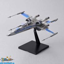 Star Wars bouwpakket Blue Squadron Resistance X-Wing Fighter 1/72 schaal