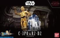 Star Wars bouwpakket C-3PO & R2-D2 1/12 schaal