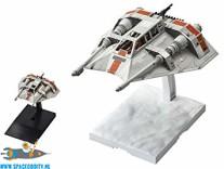 Star Wars bouwpakket Snowspeeder 1/48 schaal & 1/144 schaal