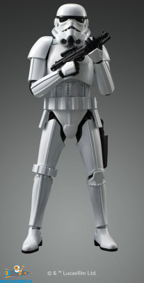 Star Wars bouwpakket Stormtrooper 1/12 schaal