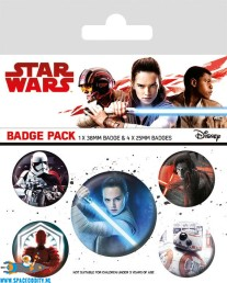 Star Wars button set characters