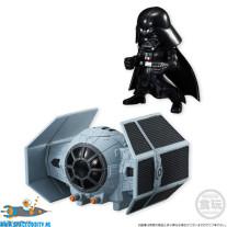 Star Wars Converge Tie Advanced X1 & Darth Vader