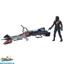Star Wars Elite Speeder Bike & Stormtrooper actiefiguur