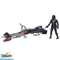 Star Wars Elite Speeder Bike & Stormtrooper actiefiguur