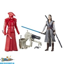​Star Wars Force Link actiefiguren Rey (jedi training) & Elite Praetorian Guard