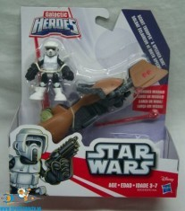 Star Wars Galactic Heroes Scout Trooper & Speederbike