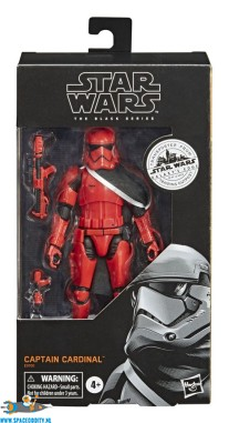 Star Wars Galaxy's Edge The Black Series actiefiguur Captain Cardinal