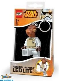 Star Wars Lego Admiral Ackbar sleutelhanger met lichtje