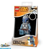 Star Wars Lego Boba Fett sleutelhanger met lichtje