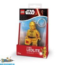Star Wars Lego C-3PO sleutelhanger met lichtje