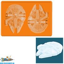 Star Wars silicone ice cube tray Millennium Falcon