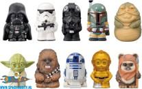 Star Wars Sofvi puppet mascot figuren set van 10