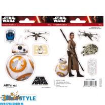 Star Wars stickers BB-8 & Rey