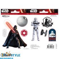 Star Wars stickers Darth Vader & Stormtrooper