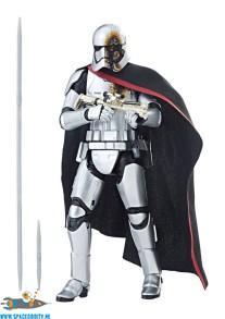 Star Wars The Black Series actiefiguur Captain Phasma (Quicksilver Baton) 15 cm