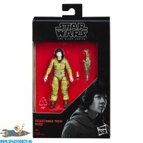 Star Wars The Black Series actiefiguur Restistance Tech Rose 10 cm