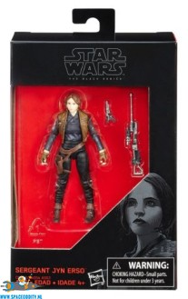Star Wars The Black Series actiefiguur Sergeant Jyn Erso 10 cm