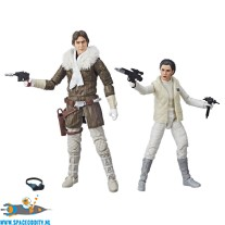 Star Wars The Black Series Han Solo & Princess Leia in Hoth Outfit
