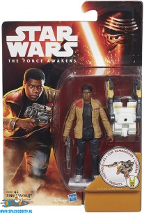 Star Wars The Force Awakens actiefiguur Finn (Jakku)