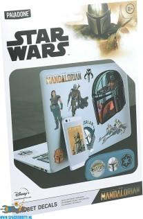 Star Wars The Mandalorian gadget decals / stickers