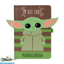 Star Wars The Mandalorian premium notitieboek A5 The Child (baby Yoda) I'm All Ears (groen)