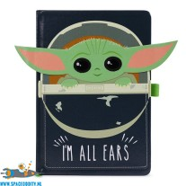 Star Wars The Mandalorian premium notitieboek A5 The Child (baby Yoda) I'm All Ears