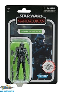 Star Wars The Mandalorian The Vintage Collection carbonized actiefiguur Imperial Death Trooper