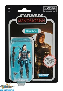 Star Wars The Mandalorian The Vintage Collection carbonized actiefiguur Cara Dune