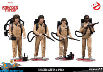 Stranger Things actiefiguren 4-pack Ghostbusters ​​15 cm