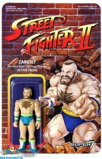 Street Fighter II action figure Zangief