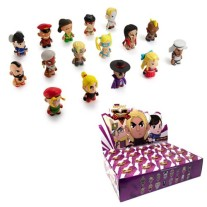 Street Fighter V blind box vinyl figuur 7,5 cm