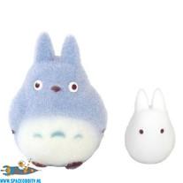 Studio Ghibli My Neighbor Totoro; Totoro flocked vinyl figuren