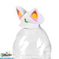 Super Mario bottle cap collection white Tanooki Luigi