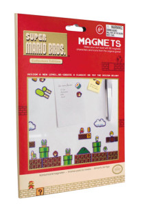 Super Mario Bros koelkastmagneetjes