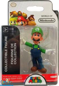 Super Mario collectible figure Luigi