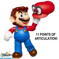 Super Mario figuur Mario met Cappy