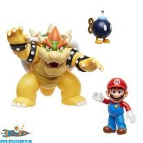 Super Mario playset Bowser Lava battle set