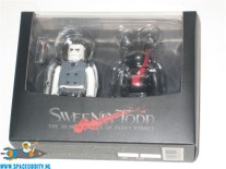 Sweeney Todd Kubrick / Bearbrick set van 2 figuren