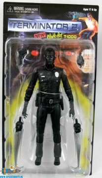 Terminator 2 actiefiguur white-hot T-1000