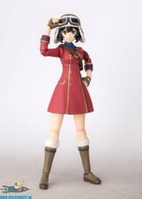 ​The Kotobuki Squadron in the Wilderness S.H.Figuarts actiefiguur Kylie