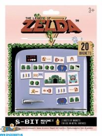 The legend of Zelda 8-Bit koelkastmagneetjes