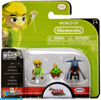 The legend of Zelda Micro Land 3 pack Link, Makar & Bokoblin