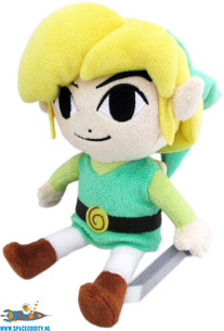 The Legend of Zelda pluche Link uit The Wind Waker HD