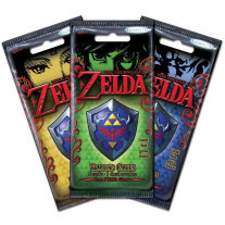 The Legend of Zelda trading cards booster